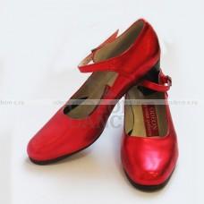 Туфли для Фламенко красные