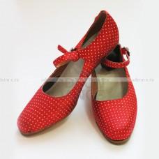 Туфли для Фламенко  в горох