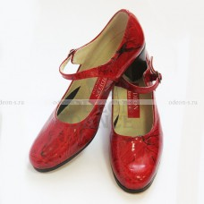 Туфли для фламенко испанский лак