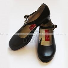 Туфли степ женские на ремешке