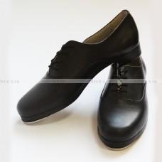 Степ- полуботинки на шнуровке