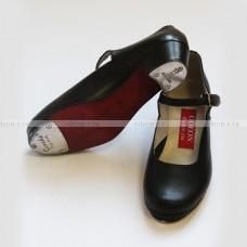 Ботинки степ женские на ремешке